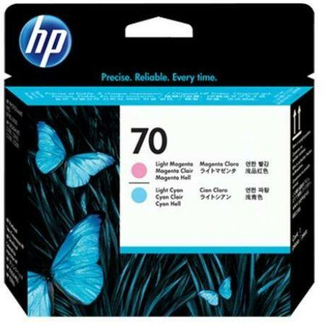 HP C9405A No.70 világoskék és világosmagenta eredeti nyomtatófej