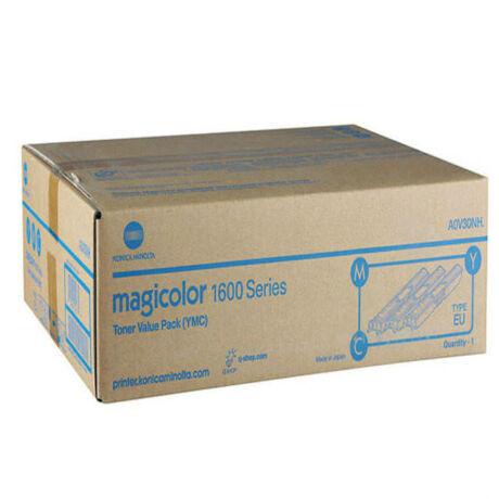 Konica Minolta Magicolor 1600 (A0V30NH) eredeti toner csomag outlet