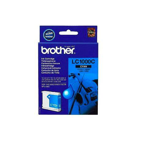Brother LC1000 kék eredeti tintapatron