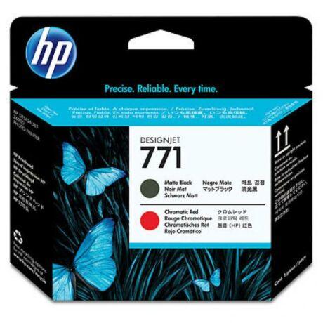 HP CE017A No.771 mattfekete és piros eredeti nyomtatófej