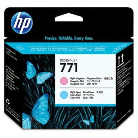 HP CE019A No.771 világos magenta és világoskék eredeti nyomtatófej