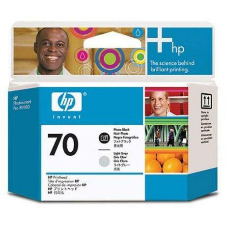 HP C9407A No.70 fotó fekete és világos szürke eredeti nyomtatófej