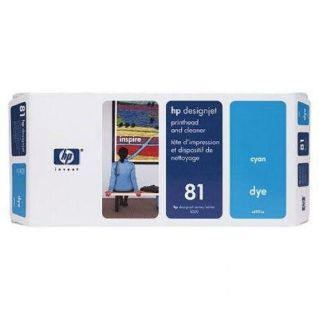 HP C4951A No.81 kék eredeti nyomtatófej