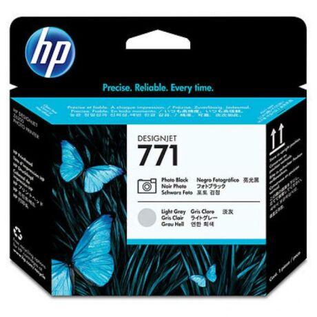 HP CE020A No.771 fotó fekete és világos szürke eredeti nyomtatófej