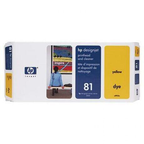 HP C4953A No.81 sárga eredeti nyomtatófej