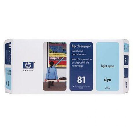 HP C4954A No.81 világoskék eredeti nyomtatófej