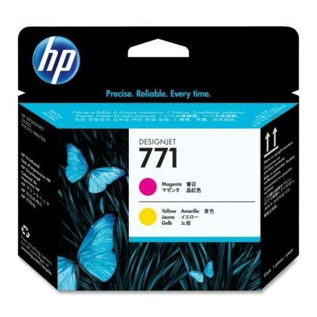 HP CE018A No.771 magenta és sárga eredeti nyomtatófej