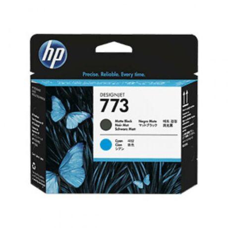 HP C1Q20A No.773 matt fekete és kék eredeti nyomtatófej
