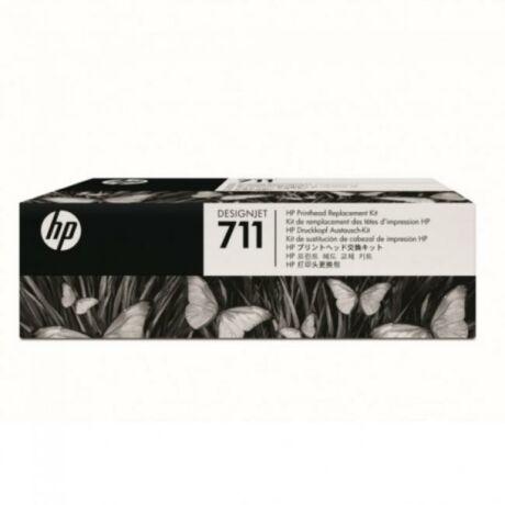 HP C1Q10A No.711 (Bk/C/M/Y) eredeti nyomtatófej készlet