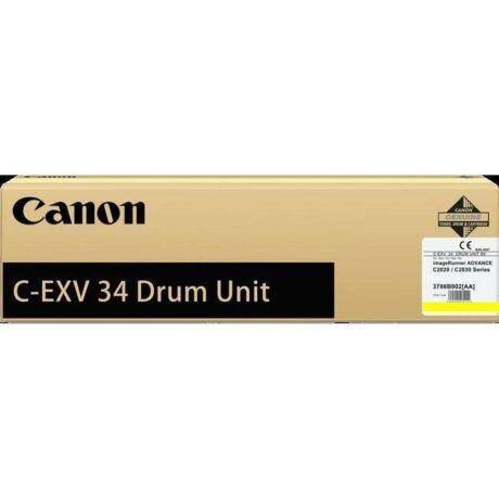 Canon C-EXV34 sárga eredeti dobegység