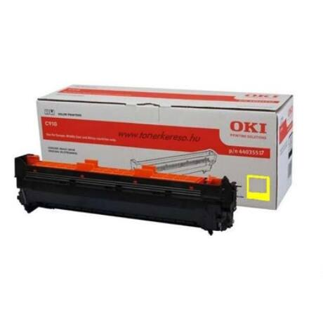 Oki [C-910-920WT] sárga eredeti dobegység (44035517)