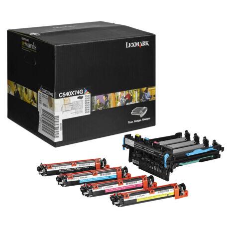 Lexmark C54x/X54x fekete + színes eredeti dobegység