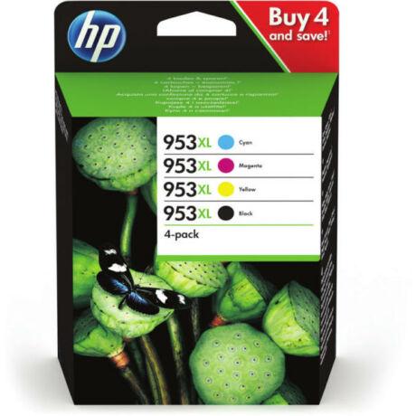 HP 3HZ52AE No.953XL eredeti tintapatron multipack (BK/C/Y/M)