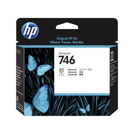 HP P2V25A No.746 fekete eredeti nyomtatófej