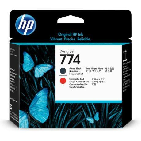 HP P2V97A No.774 fekete/krómpiros eredeti nyomtatófej