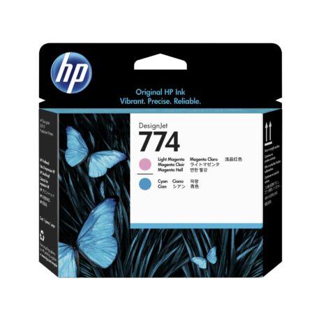 HP P2V98A No.774 világosmagenta/világoskék eredeti nyomtatófej