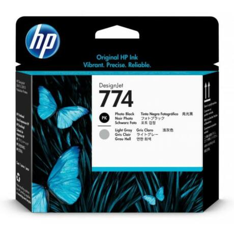 HP P2W00A No.774 fotófekete / világosszürke eredeti nyomtatófej