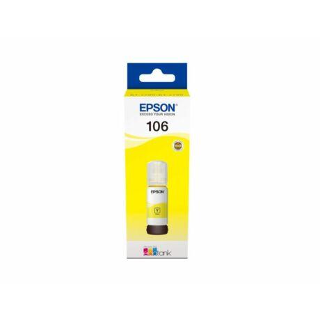 Epson T00R4 sárga eredeti tinta