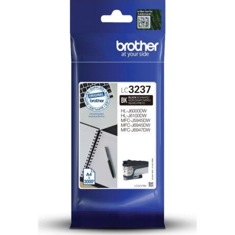 Brother LC3237 fekete eredeti tintapatron