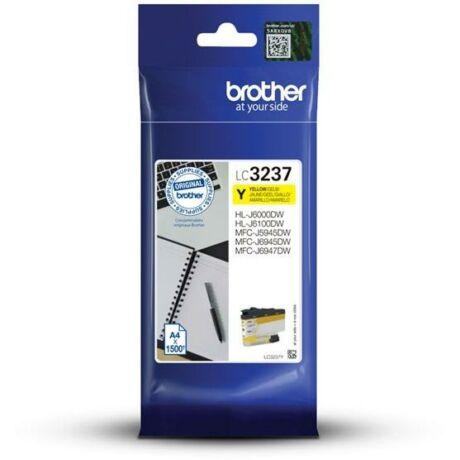 Brother LC3237 sárga eredeti tintapatron