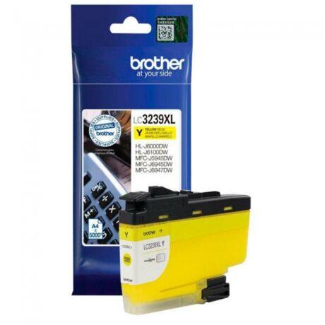 Brother LC3239XL sárga eredeti tintapatron