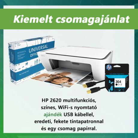 HP Deskjet 2620 színes tintasugaras nyomtatócsomag