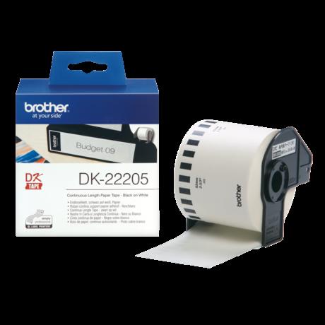 Brother DK-22205 fehér eredeti öntapadós szalagcímke 62mm