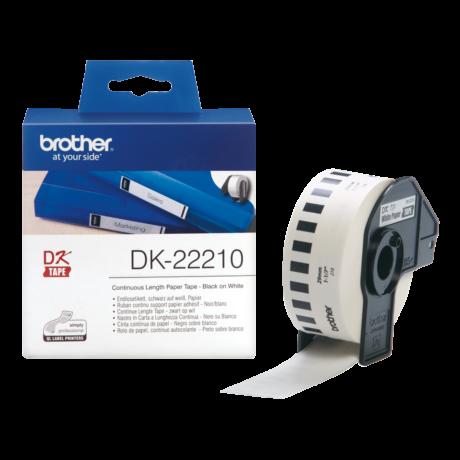 Brother DK-22210 fehér eredeti öntapadós szalagcímke 29mm