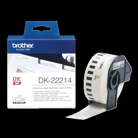 Brother DK-22214 fehér eredeti öntapadós szalagcímke 12mm