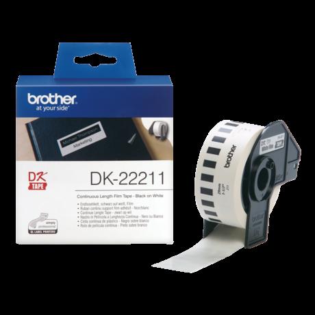 Brother DK-22211 fehér eredeti öntapadós szalagcímke 29mm