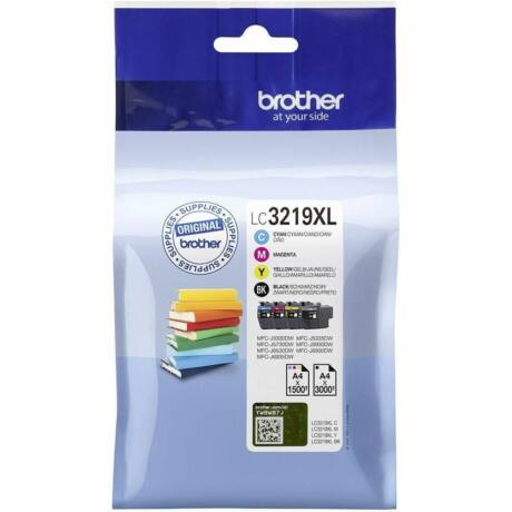 Brother LC3219XL eredeti tintapatron multipack