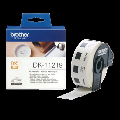 Brother DK-11219 fehér eredeti öntapadós címke 29mm