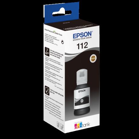 Epson T06C1 (112) fekete eredeti tinta