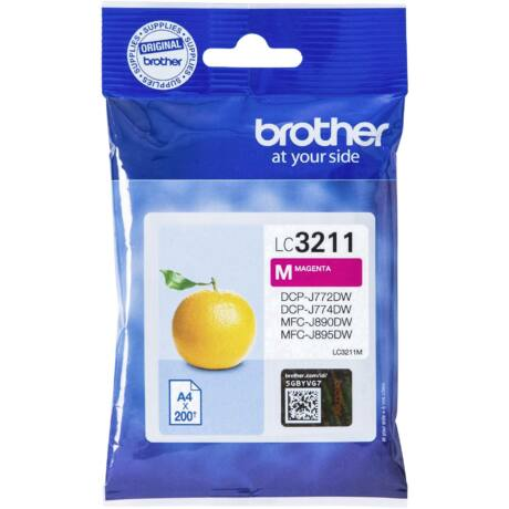 Brother LC3211 magenta eredeti tintapatron