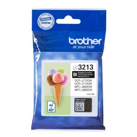 Brother LC3213 fekete eredeti tintapatron