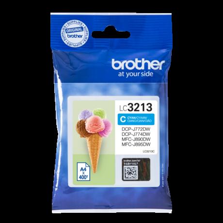 Brother LC3213 kék eredeti tintapatron