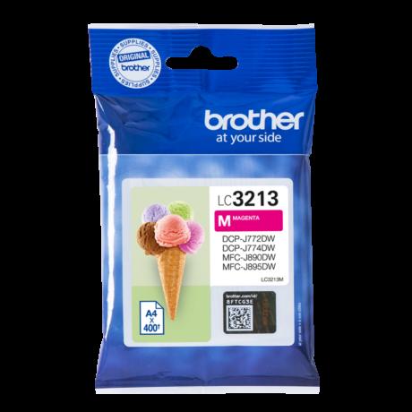 Brother LC3213 magenta eredeti tintapatron