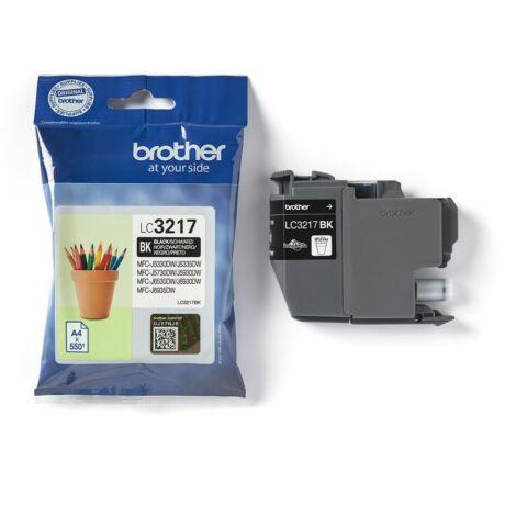 Brother LC3217 fekete eredeti tintapatron