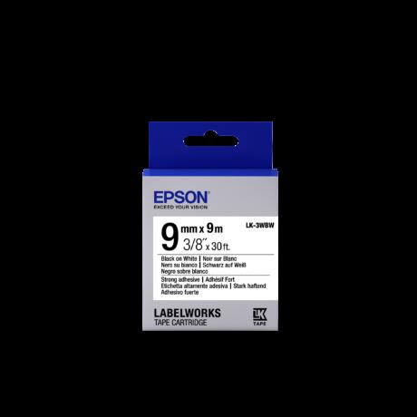 Epson LK-3WBW fehér alapon fekete eredeti címkeszalag