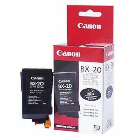 Canon BX-20 fekete eredeti tintapatron