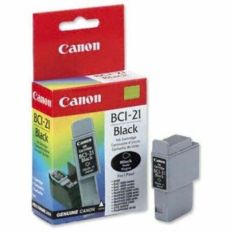 Canon BCI-21 fekete eredeti tintapatron