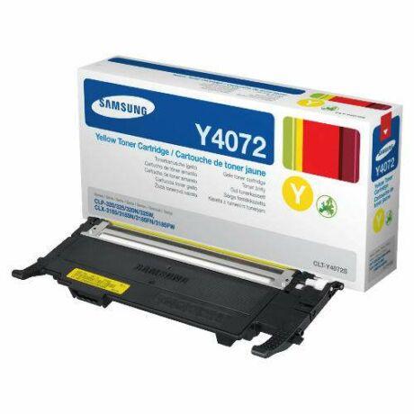 Samsung CLP-320/325 (CLT-Y4072S) sárga eredeti toner [SU472A]