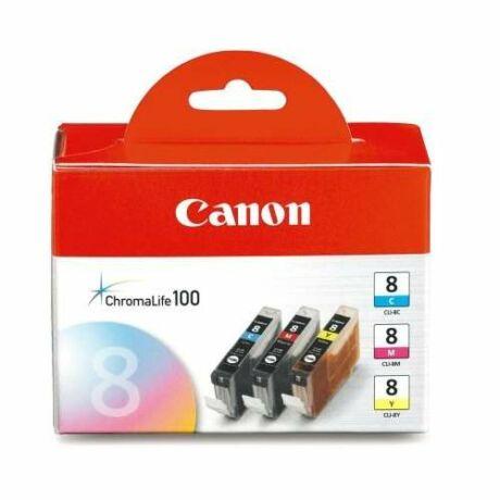 Canon CLI-8 C/M/Y eredeti tintapatron multipack