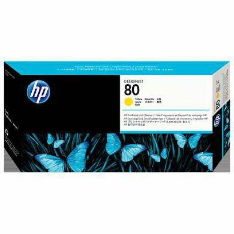 HP C4823A No.80 sárga eredeti nyomtatófej