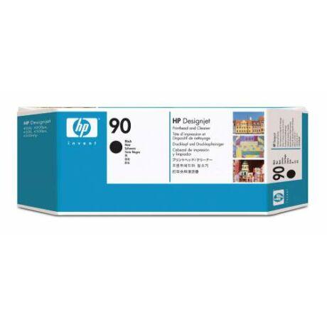 HP C5054A No.90 fekete eredeti nyomtatófej