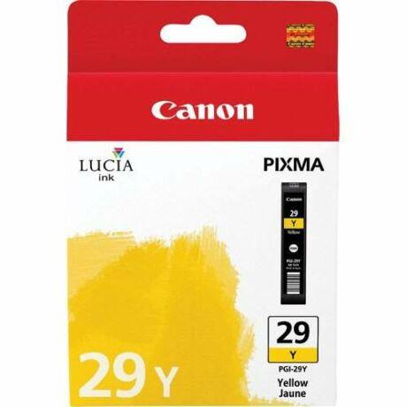 Canon PGI-29Y sárga eredeti tintapatron