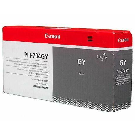 Canon PFI-704GY szürke eredeti tintapatron